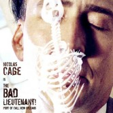 My Own Movie Poster Design of Werner Herzog&#8217;s BAD LIEUTENANT: PORT OF CALL NEW ORLEANS (2009)